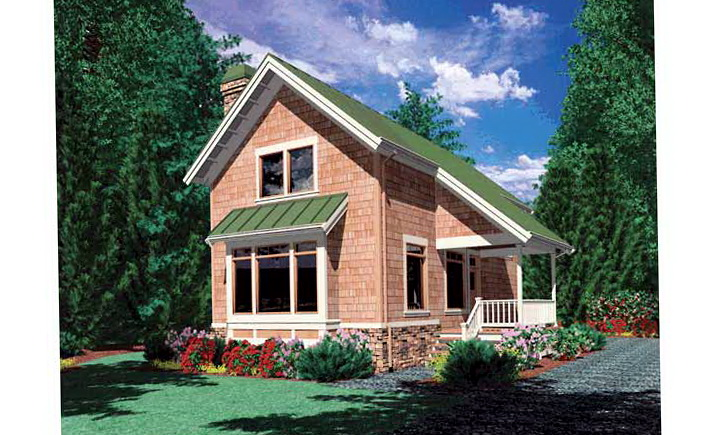 One Bedroom House Plans With Loft