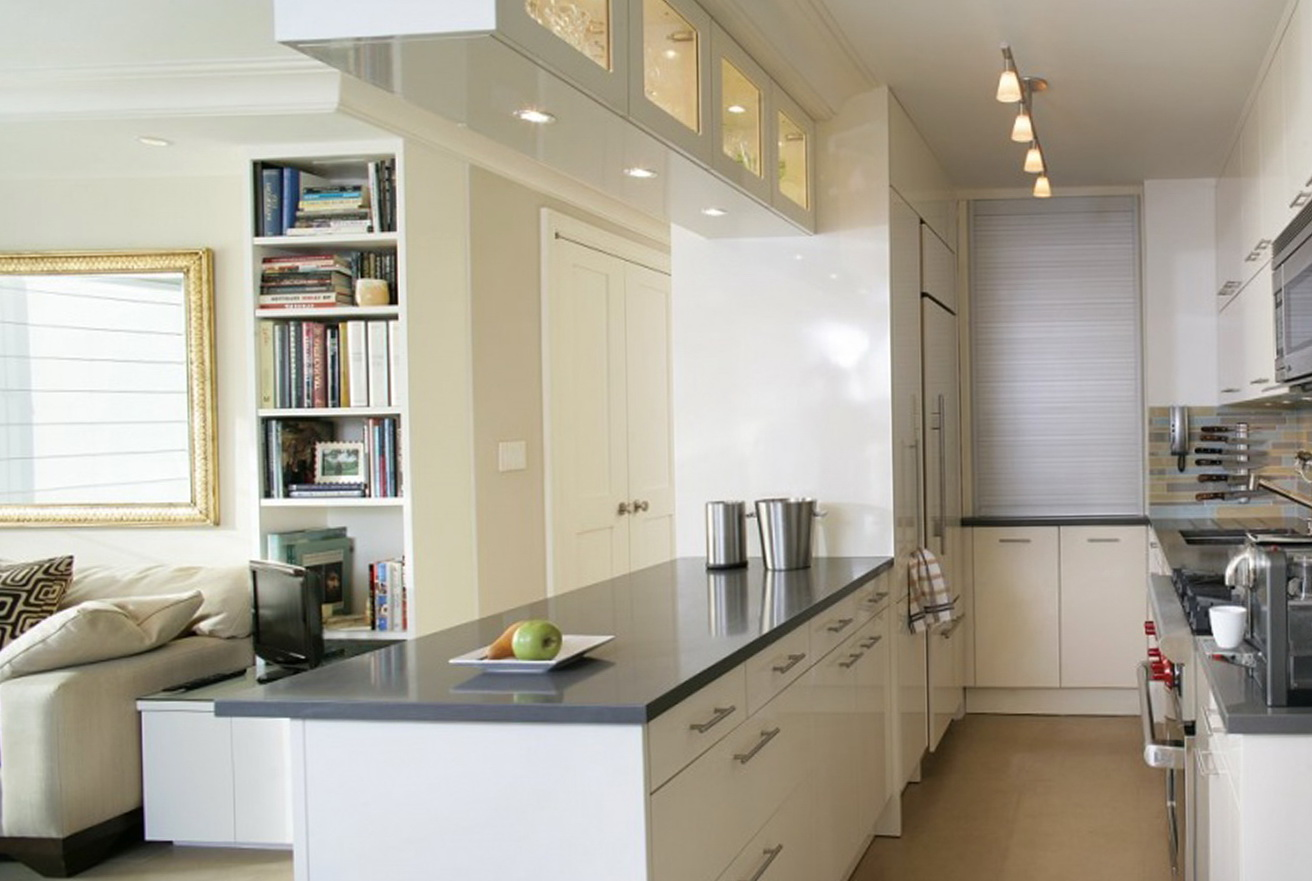 Open Kitchen Designs For Small Spaces