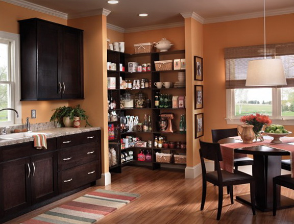 Open Kitchen Pantry Ideas
