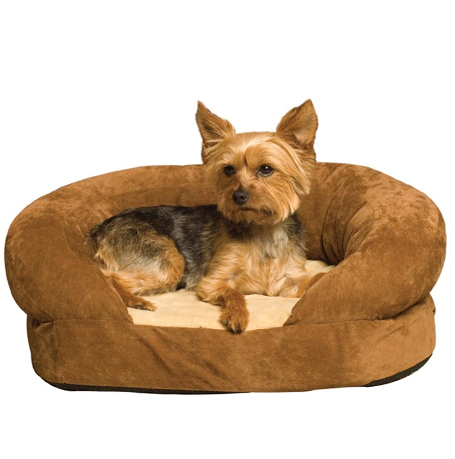 Orthopedic Dog Beds With Bolster