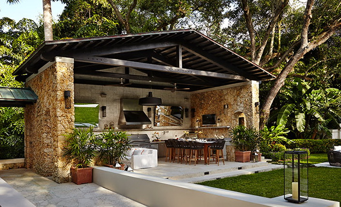 Outdoor Kitchen Appliances Miami