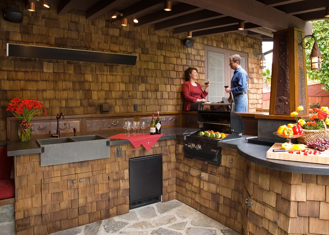 Outdoor Kitchen Ideas Designs