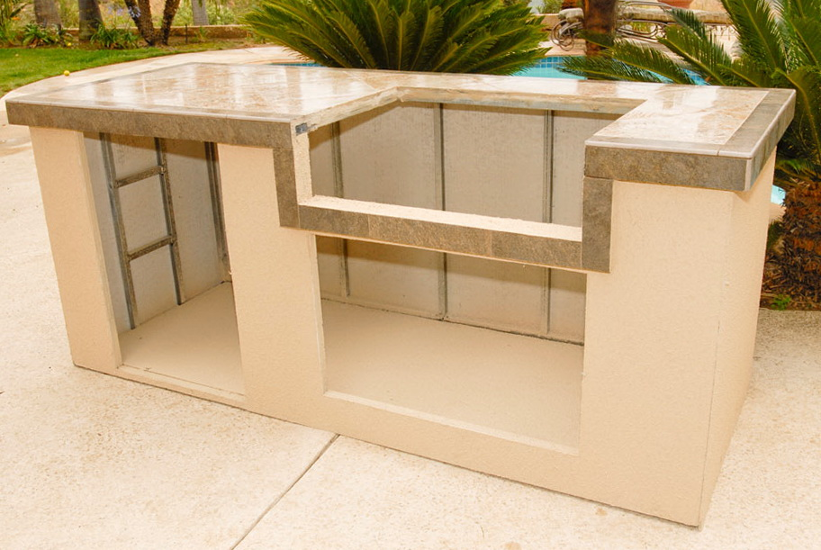 Outdoor Kitchen Island Kits