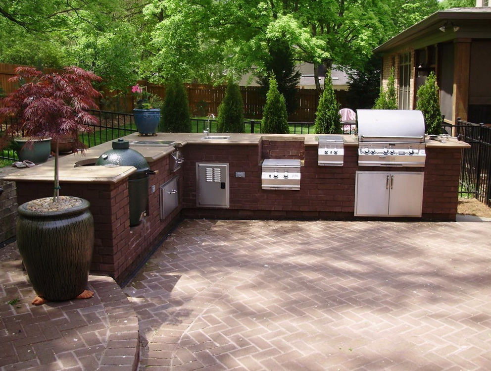 Outdoor Kitchen Plans Designs