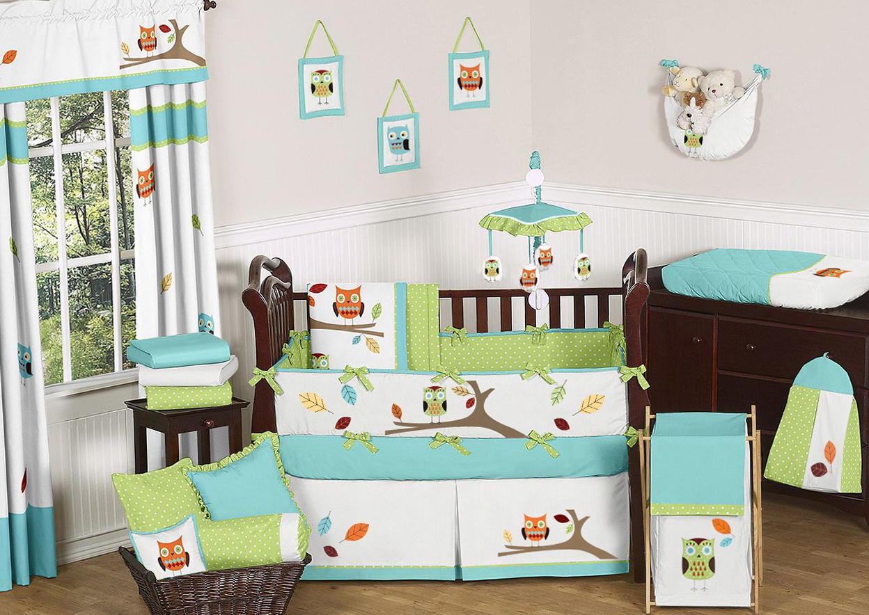 Owl Crib Bedding Sets For Boys