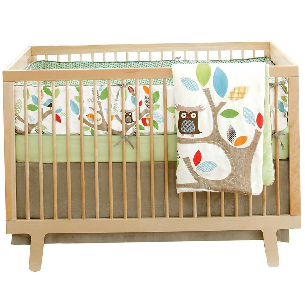 Owl Nursery Bedding Neutral