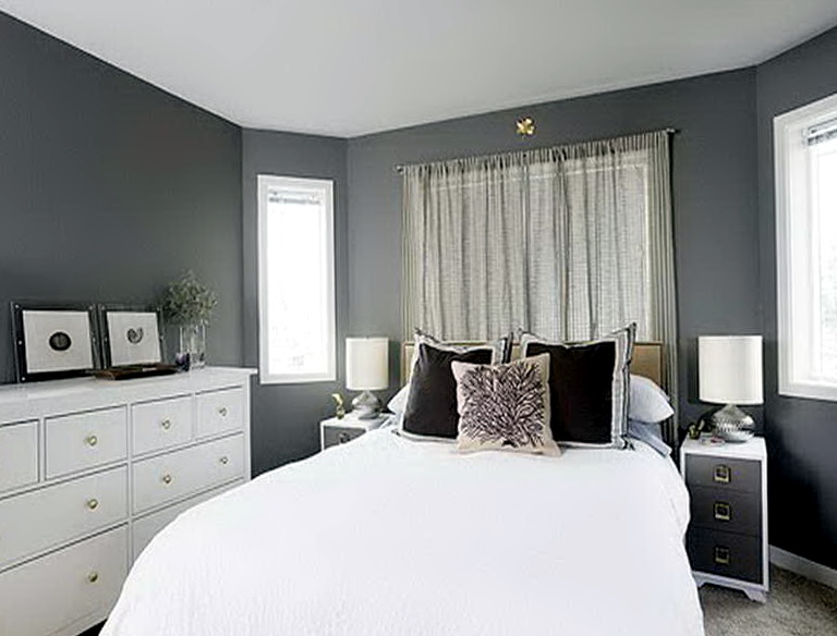 Paint Colors For Bedrooms Blue Gray