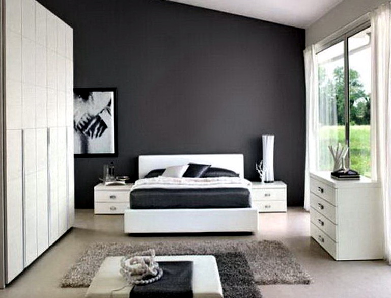 Paint Colors For Bedrooms Gray1