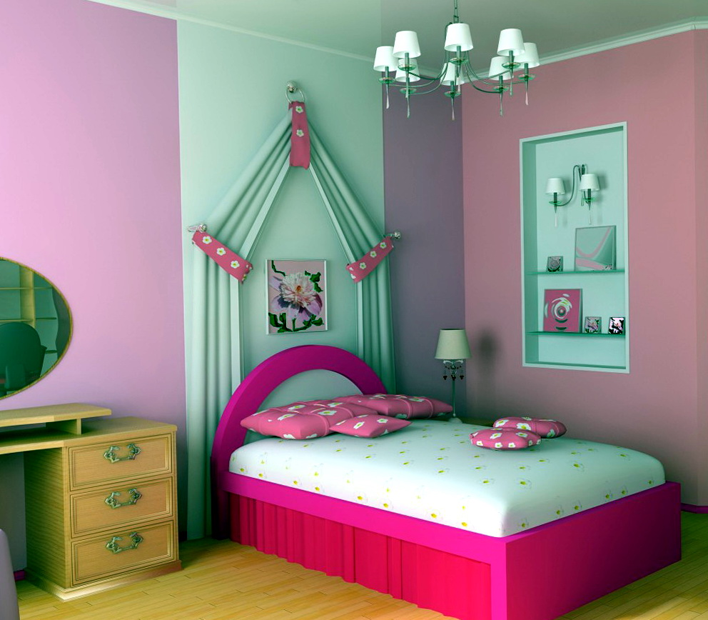 Paint Colors For Bedrooms Pink1