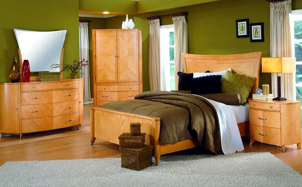 Paint Colors For Bedrooms With Wood Furniture