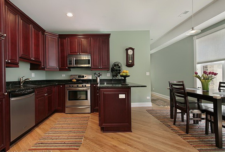 Paint Colors For Kitchen With Cherry Cabinets