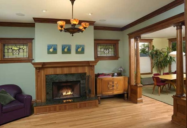 Paint Colors For Living Rooms With Wood Trim