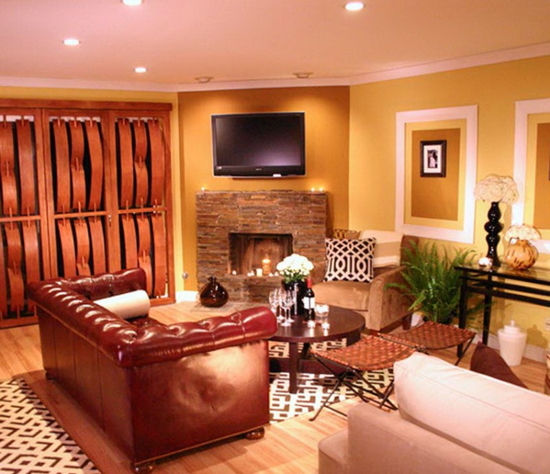 Paint Ideas For Living Room Walls