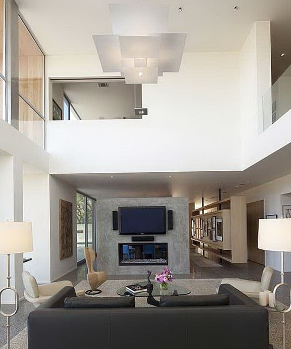 Paint Ideas For Living Room With High Ceilings