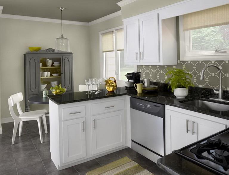 Paint Kitchen Cabinets White