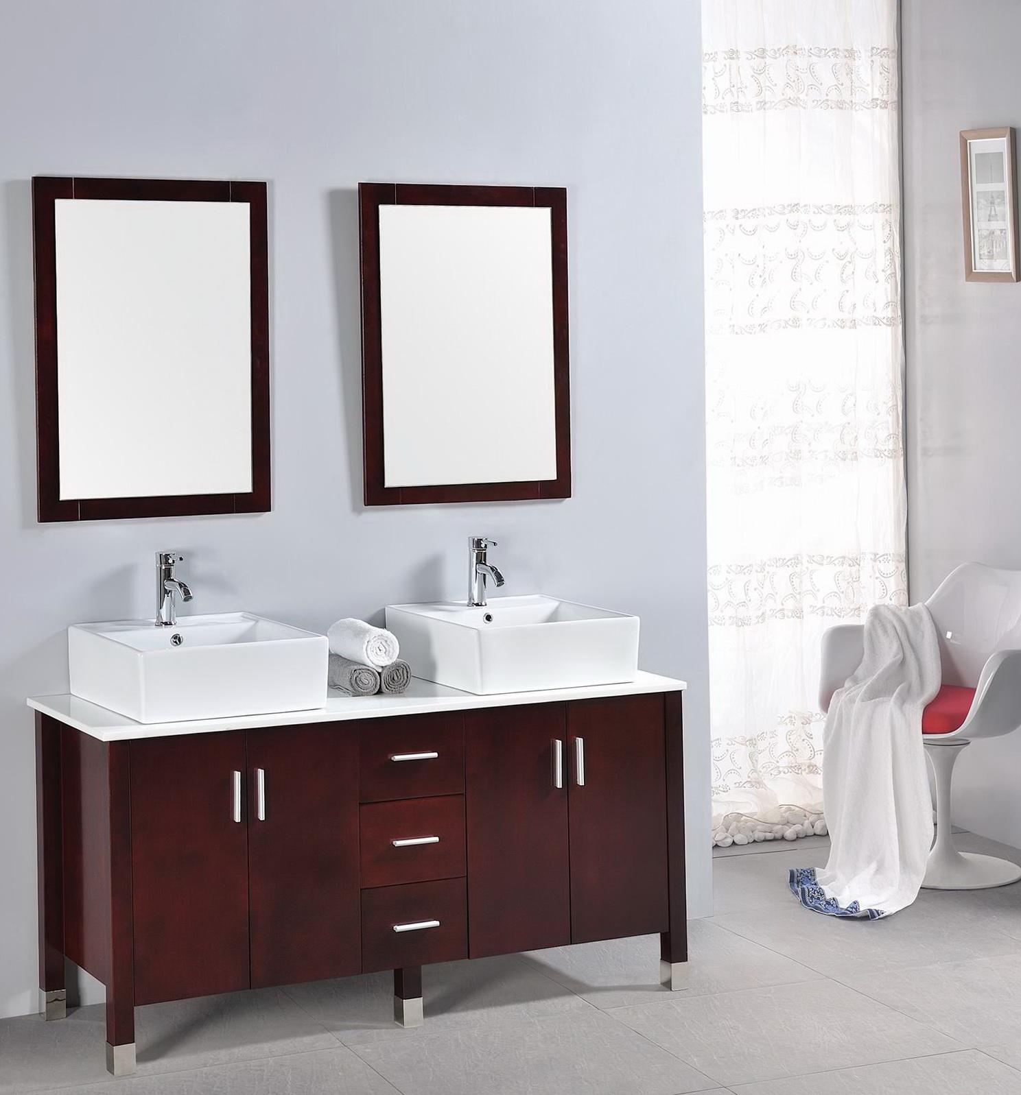 Painted Bathroom Cabinet Ideas