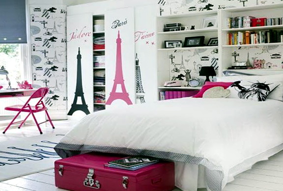 Paris Bedroom Decor Teenagers