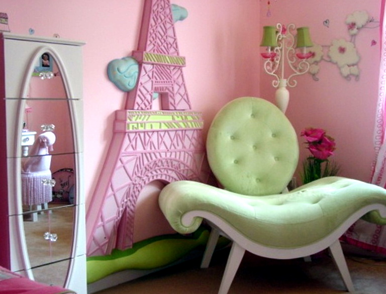 Paris Themed Bedrooms For Teenage Girls