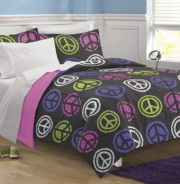 Peace Sign Bedding Set