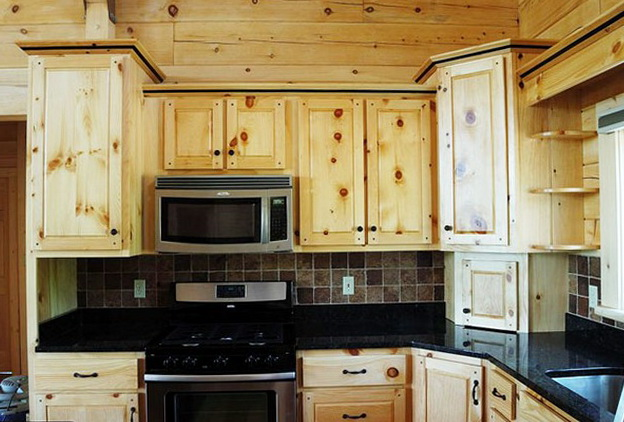 Pine Kitchen Cabinets Lowes