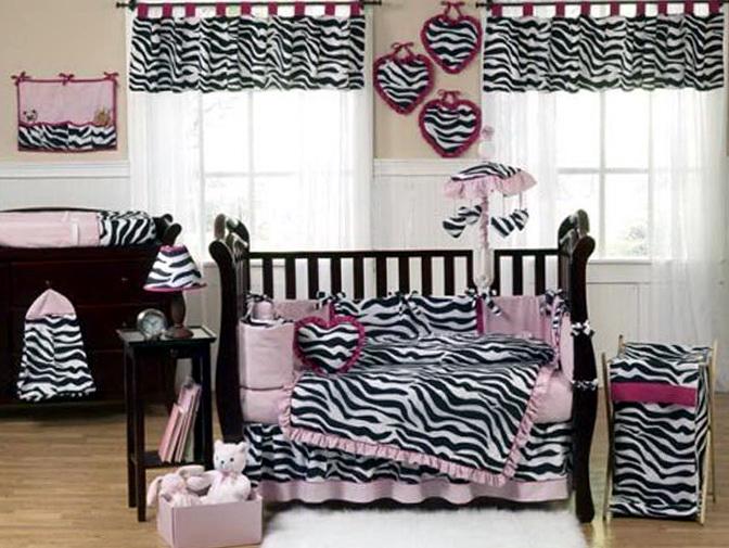 Pink Zebra Bedroom Decor