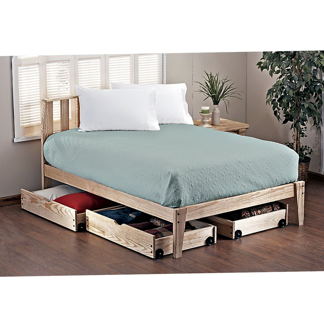 Platform Bed Frame Twin