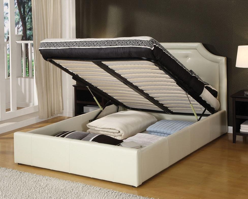 Platform Beds With Storage Underneath