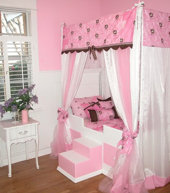 Princess Canopy Beds For Girls