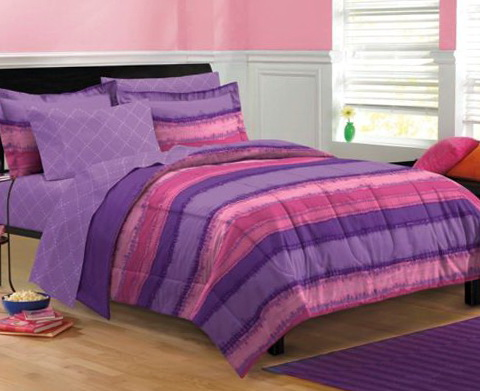 Purple Tie Dye Bedding
