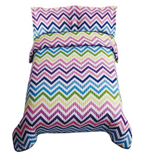 Purple Zig Zag Bedding