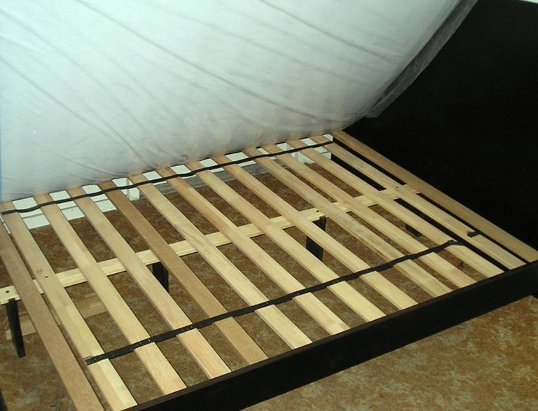 Queen Bed Rails And Slats