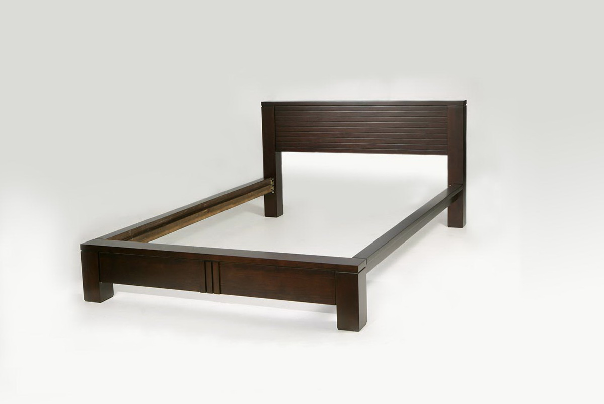 Queen Size Platform Bed Frame With Headboard