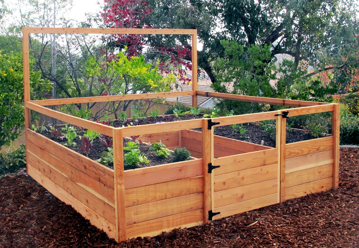 Raised Garden Beds Kit
