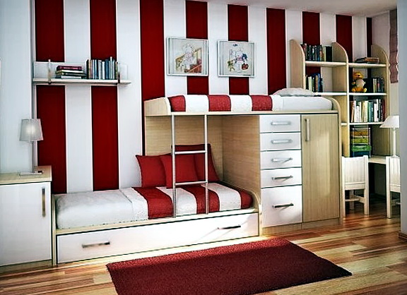 Red Bedroom Ideas For Teenage Girls