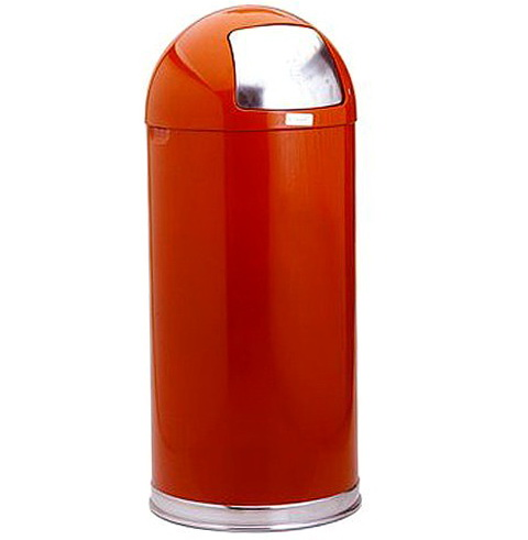 Red Kitchen Trash Cans