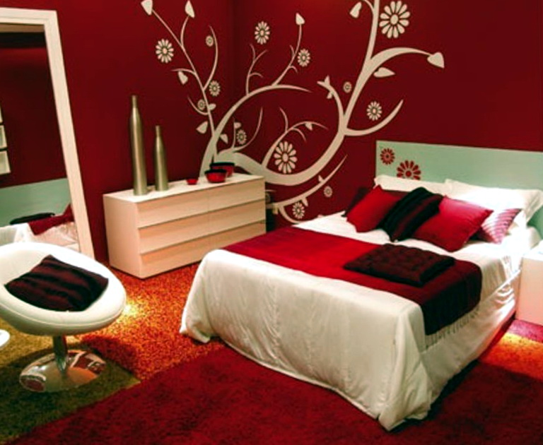 Red Paint Ideas For Bedroom