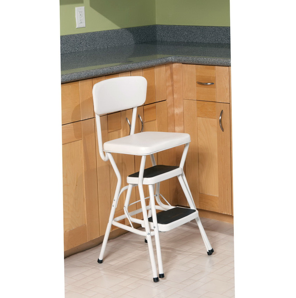 Retro Kitchen Step Stool