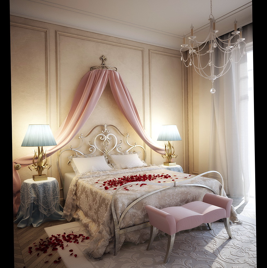 Romantic Bedroom Ideas For Her