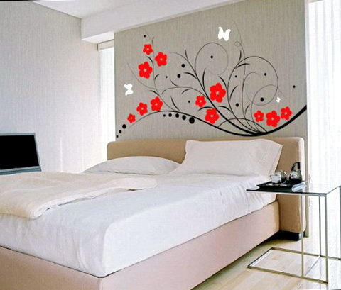 Romantic Bedroom Wall Decals