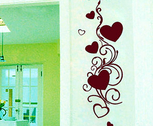 Romantic Wall Decals For Bedroom