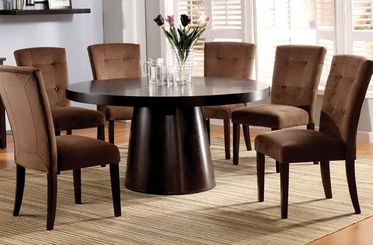 Round Kitchen Table Sets With Lazy Susan