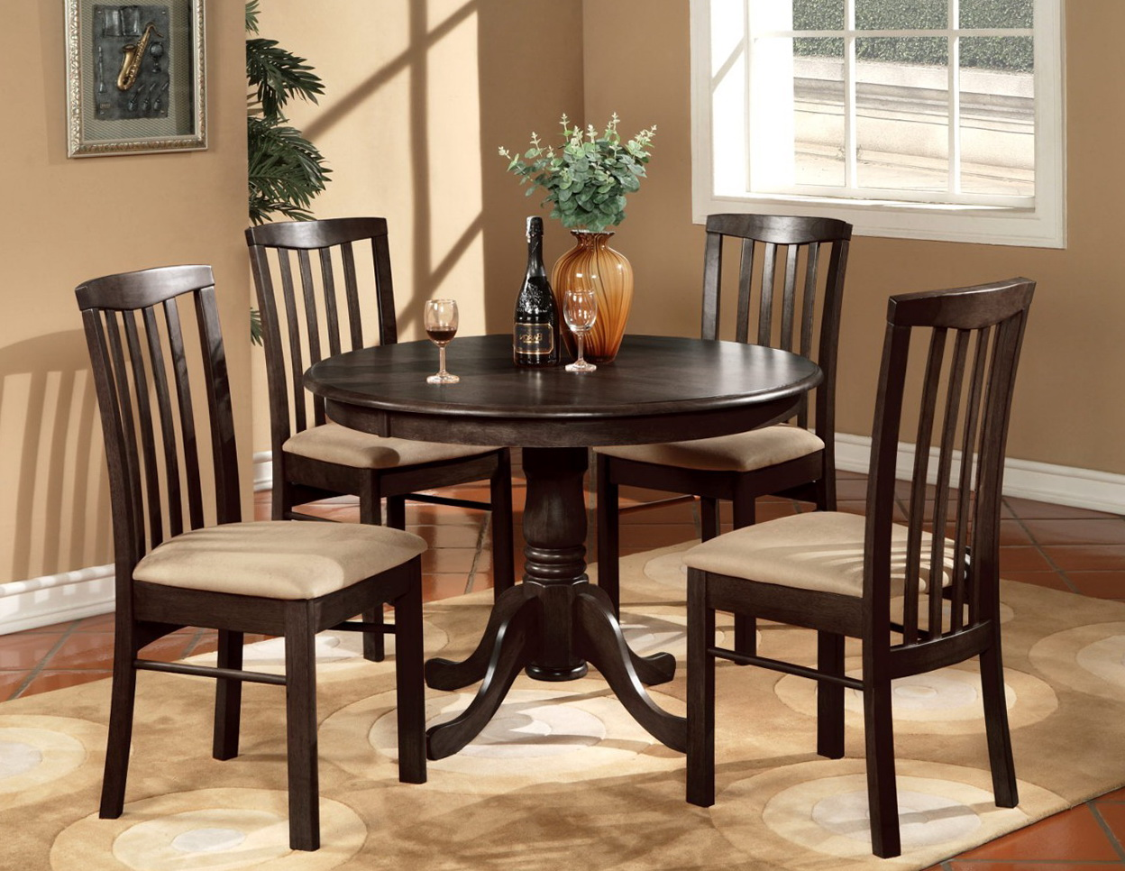 Round Kitchen Table Sets 2