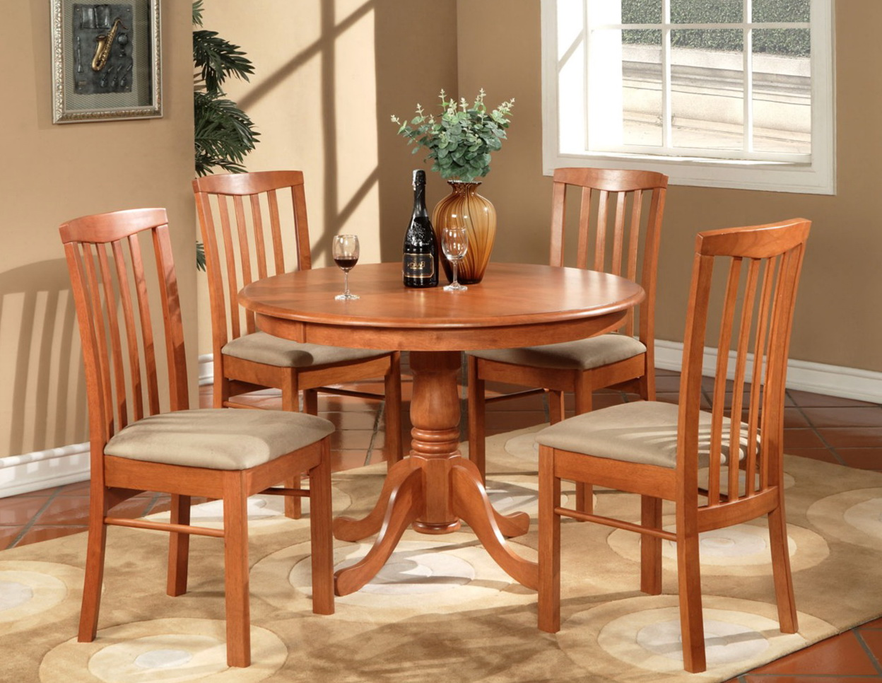 Round Kitchen Tables Sets