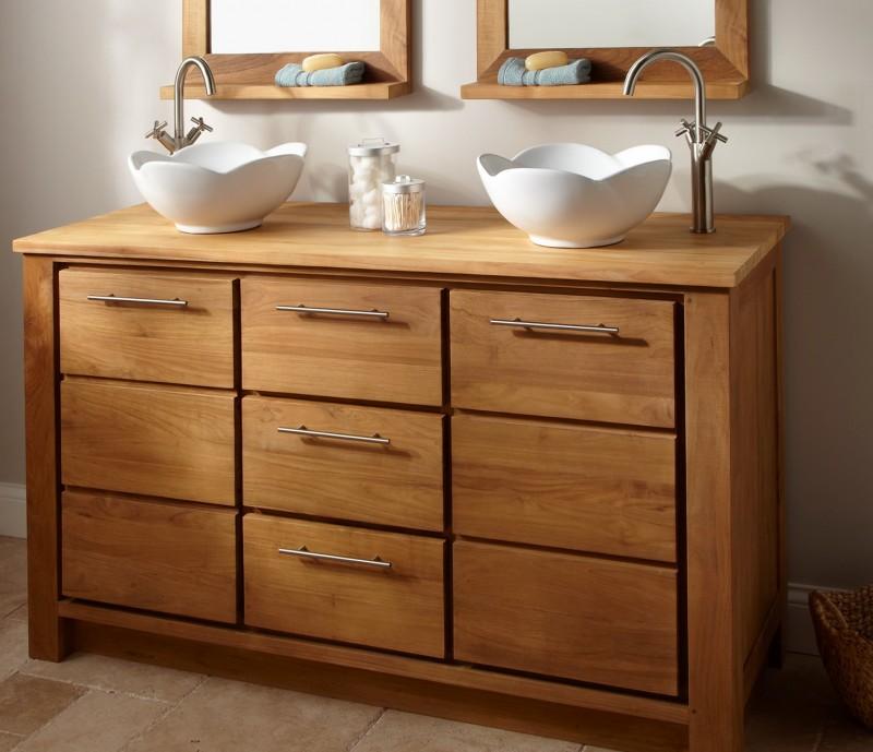 Rustic Bathroom Vanities Cabinets