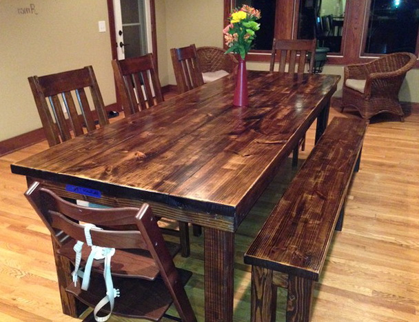 Rustic Kitchen Tables Canada
