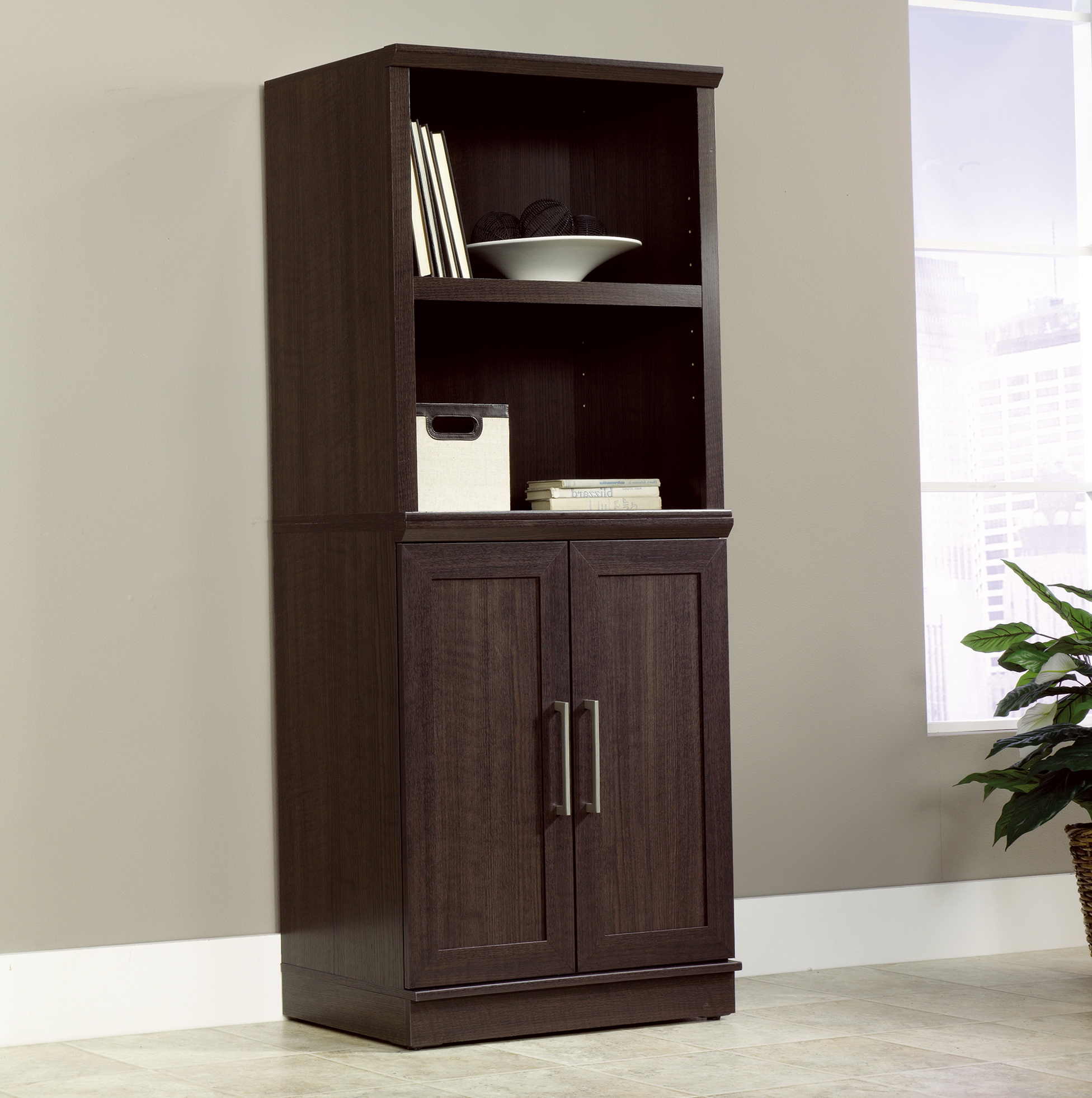 Sauder Storage Cabinet With Drawer