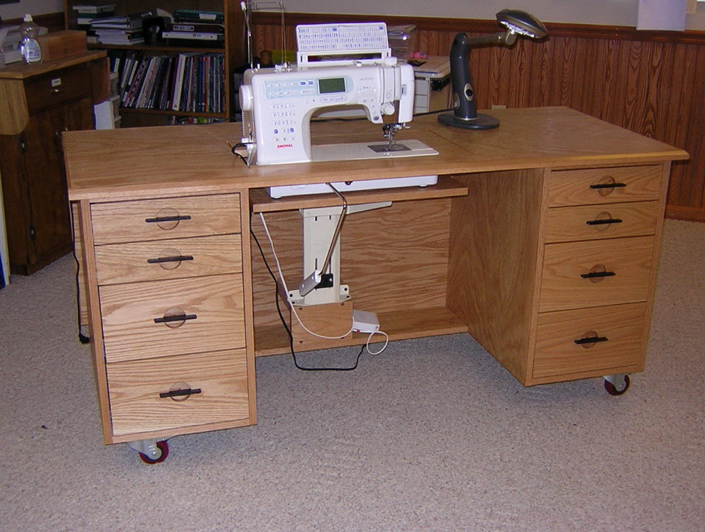 Sewing Machine Cabinets Plans