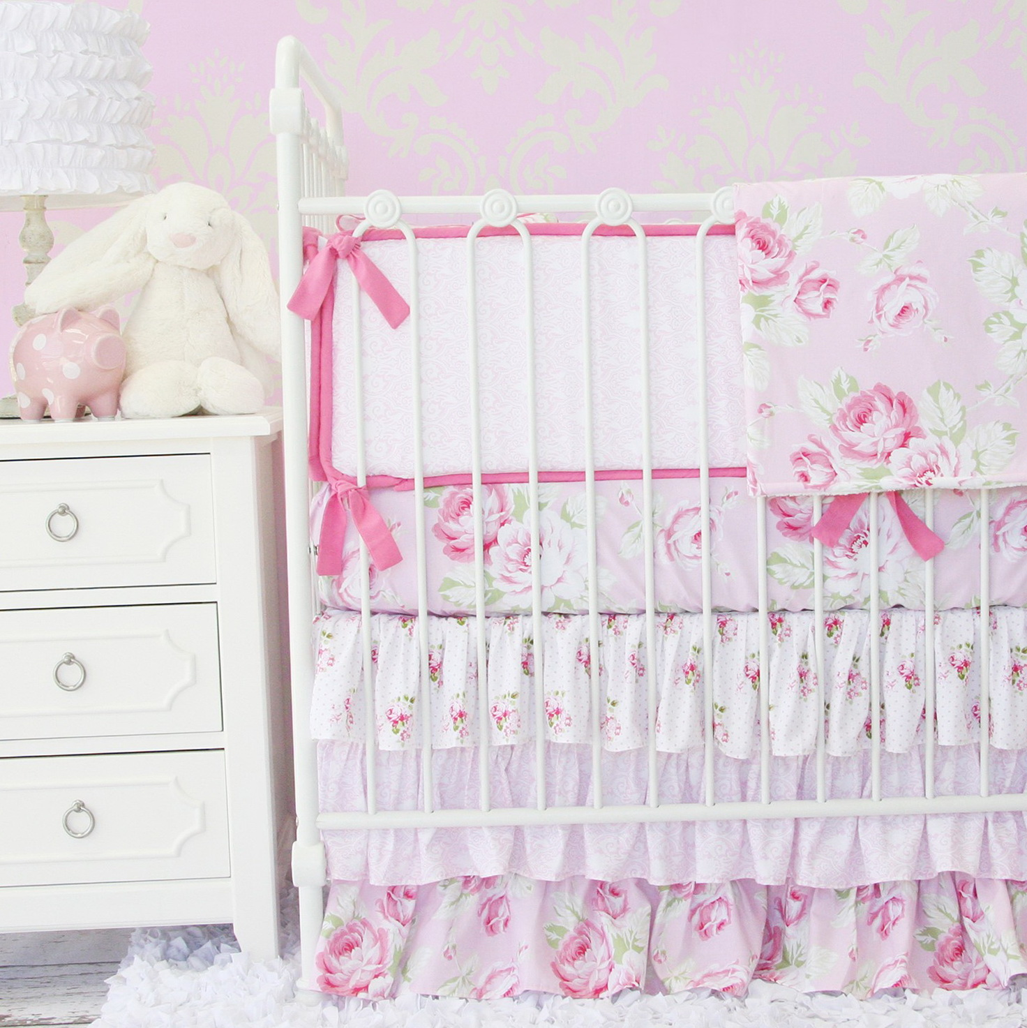 Shabby Chic Baby Bedding Sets