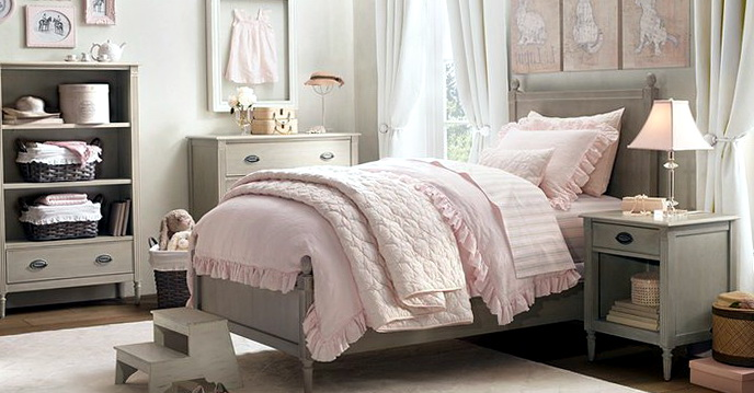 Shabby Chic Bedroom Ideas Grey