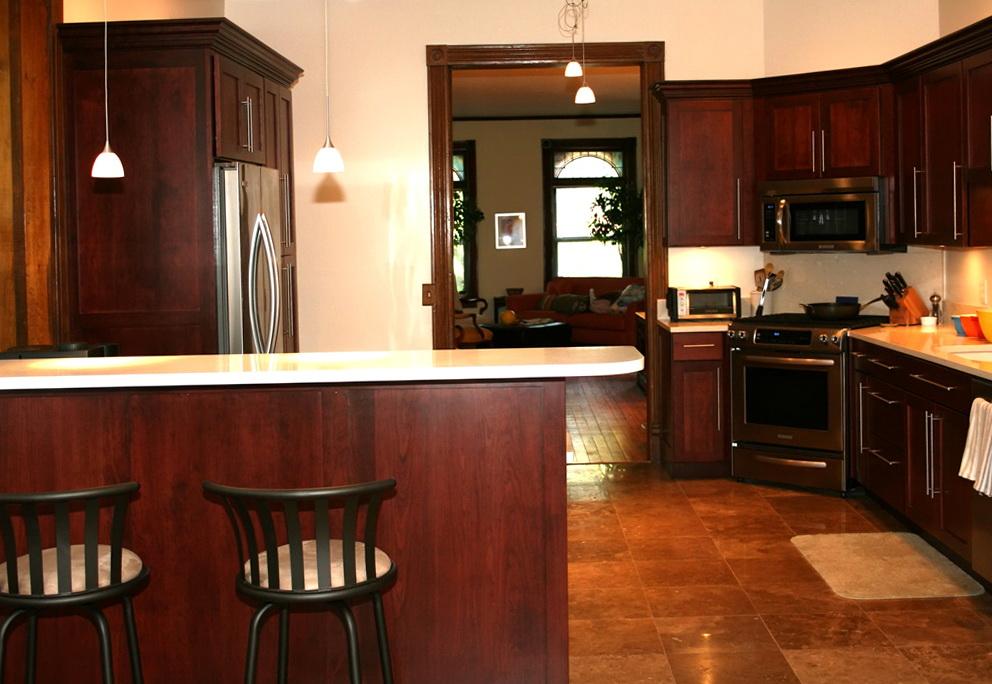 Shaker Kitchen Cabinets Cherry